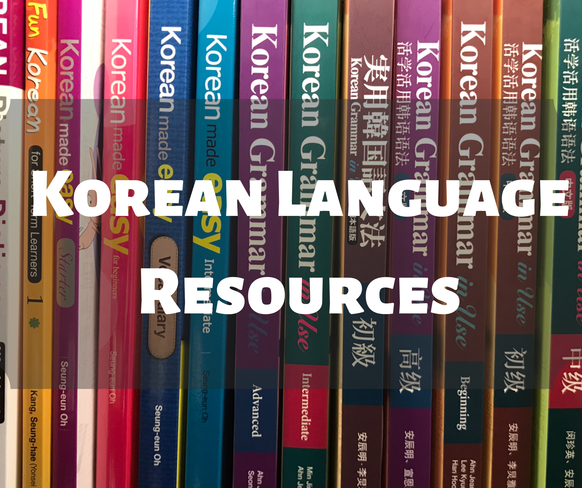 Korean Language Resources